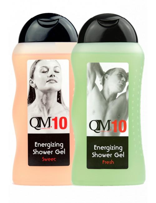 Gel de douche énergisant Q10A Frais