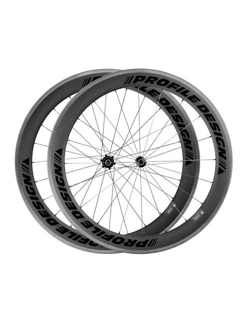 2.5G Wheel 58 Twenty Four Full Carbon Clincher