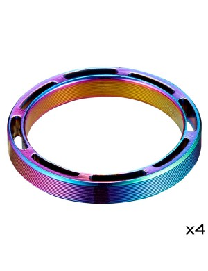 "SupaSpacer - 5mm x 4 pcs - 1 1/8"" - Oil Slick"